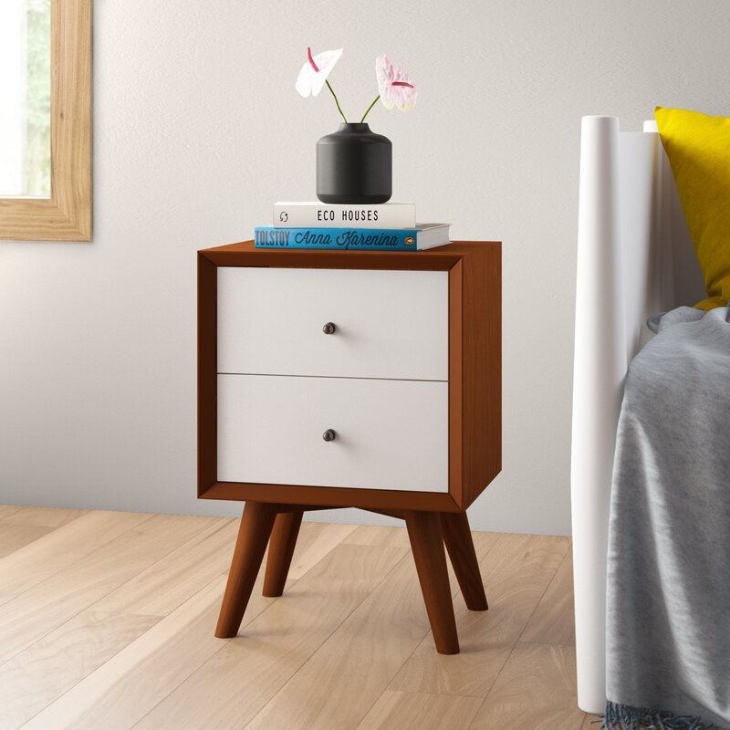 Williams Two-Tone 2 Drawer Nightstand