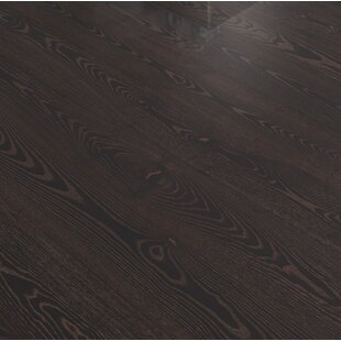 Shine 7 13 32 Engineered Ash Hardwood Flooring In Black Copper