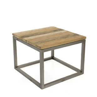 Union Rustic Blackman Recycled Teak End Table