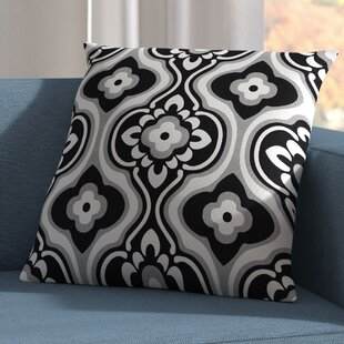 Murrin Blossom Cotton Throw Pillow Cover