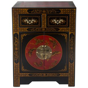 NES Furniture Oriental Antique Style 2 Dr..