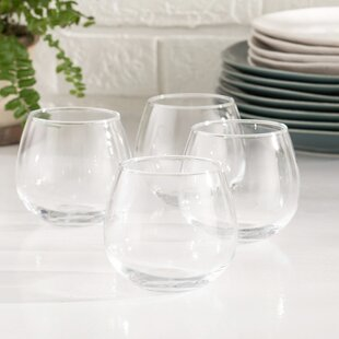 ee79bd5c11f Stemless Wine Glass (Set of 4)
