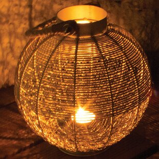 Byrne Candle Lantern By World Menagerie