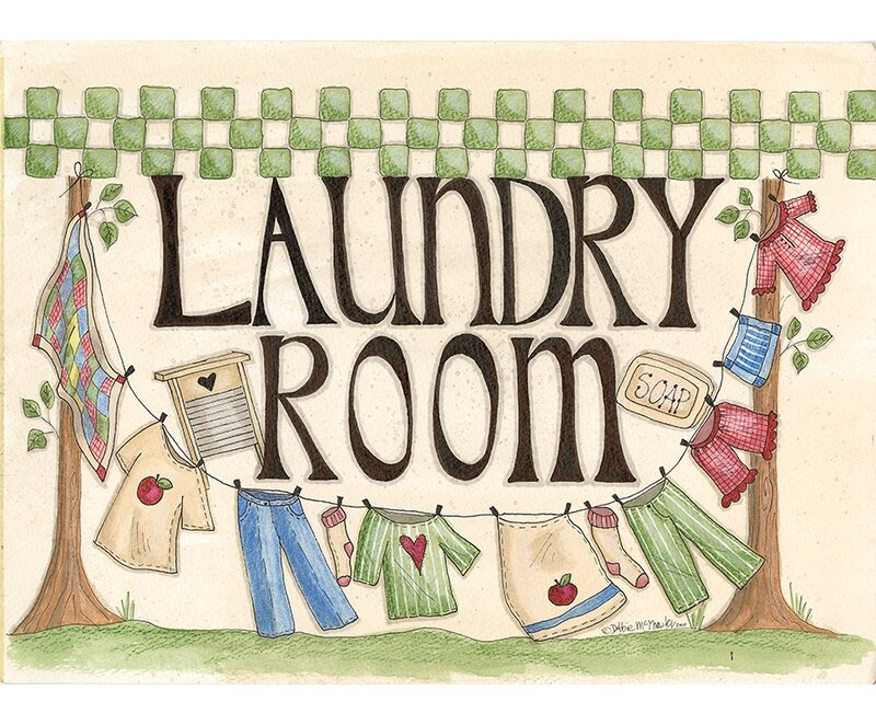 'Laundry Room' Graphic Art Print - laundry room decor