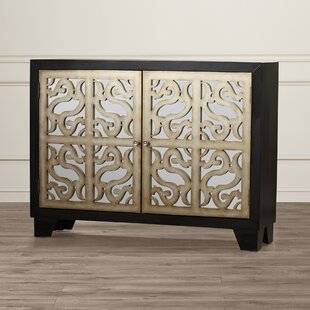 Reviews Aguilar 2 Door Mirrored Cabinet By Willa Arlo Interiors