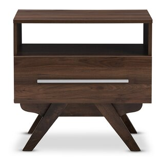 Find the perfect Perryville 1 Drawer Nightstand By George Oliver