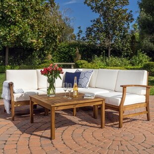 Pardue 6 Piece Sectional Set with Cushions
