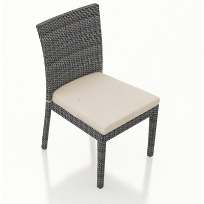 Hobbs Patio Dining Chair With Cushion Rosecliff Heights