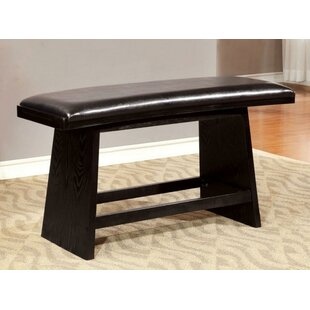 Keanna Modern Style Counter Ht. Rocking Bench