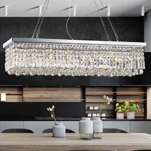 Rectangular crystal chandelier wayfair save to idea board aloadofball Images