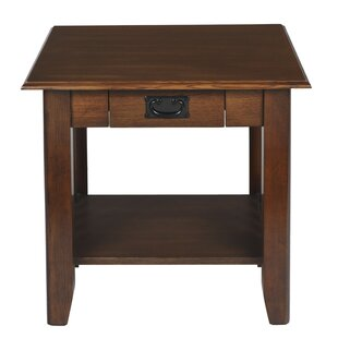 Byrd End Table with Storage