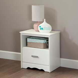 Tiara 1 Drawer Nightstand by South Shore