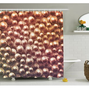 Jewelry Glitters Shower Curtain Set by Ambesonne Purchase