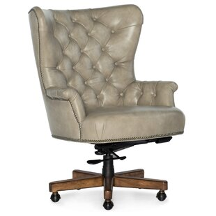 Issey Ergonomic Genuine Leather Executive Chair by Hooker Furniture