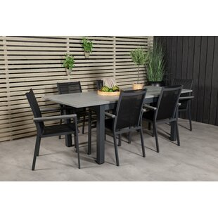 Review Jayesh 6 Seater Dining Set