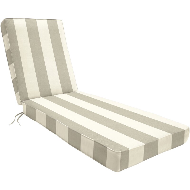 Wayfair custom outdoor cushions coussin de chaise longue int rieur ext rieur sunbrella et - Chaise longue interieur ...