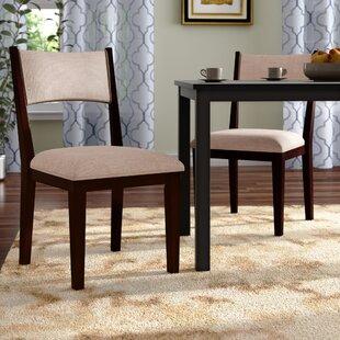 Bathurst Mid-Century Modern Upholstered Dining Chair (Set Of 2) Best #1