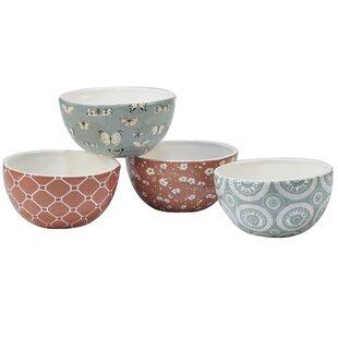 Fullen 4 Piece Dessert Bowl Set