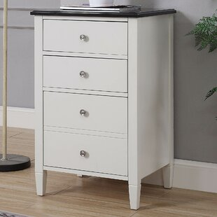 Petrolia 4-Drawer Vertical Filing Cabinet by Winston Porter New