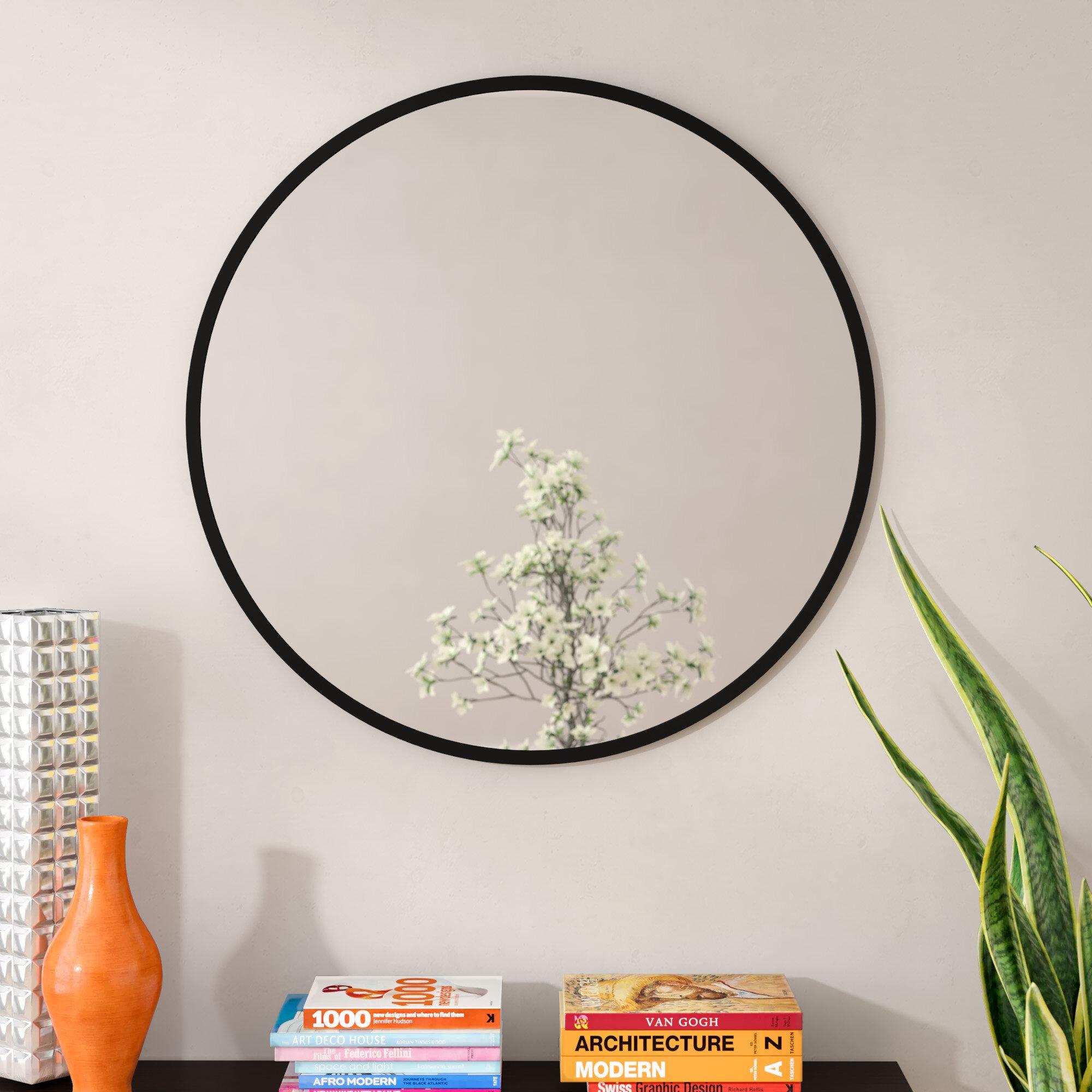 Umbra Hub Modern Contemporary Accent Mirror Reviews Wayfair