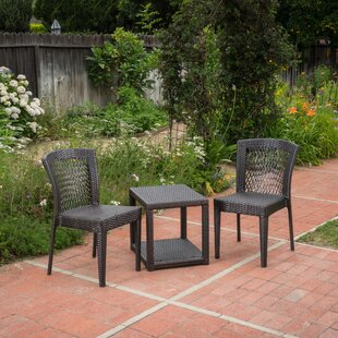 Wozniak 3 Piece Conversation Set by Wrought Studio Savings