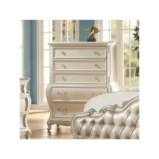Troxel Wooden 5 Drawer Chest by Astoria Grand
