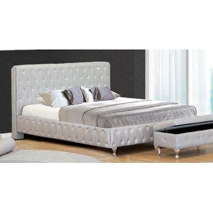 BestMasterFurniture Upholstered Platform Bed