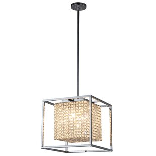 Best Reviews Friedman 5-Light Square Chandelier By House of Hampton