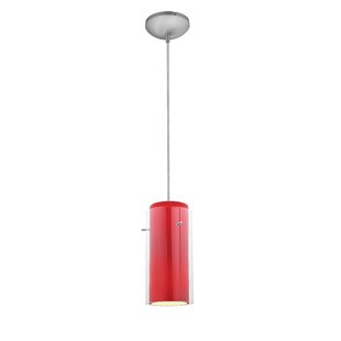 Wrought Studio Olden Modern 1-Light Cylinder Pendant