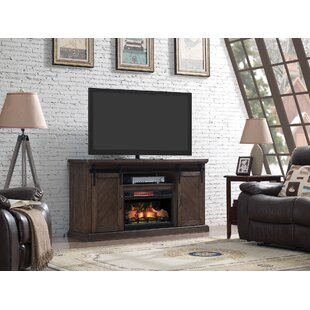 Carnahan Sliding Barn Door TV Stand for TVs up to 78