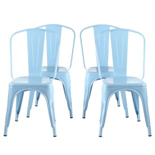 Apatow Industrial Bistro Dining Chair (Se..