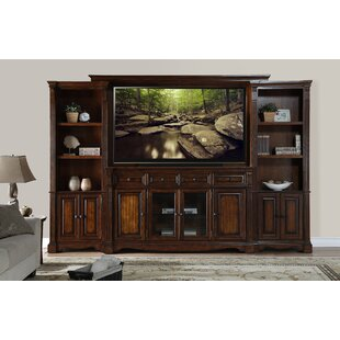 Best Review Carrow Entertainment Center for TVs up to 65 by Fleur De Lis Living Reviews (2019) & Buyer's Guide