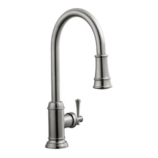 Design House Pull Out Single Handle Kitchen Faucet
