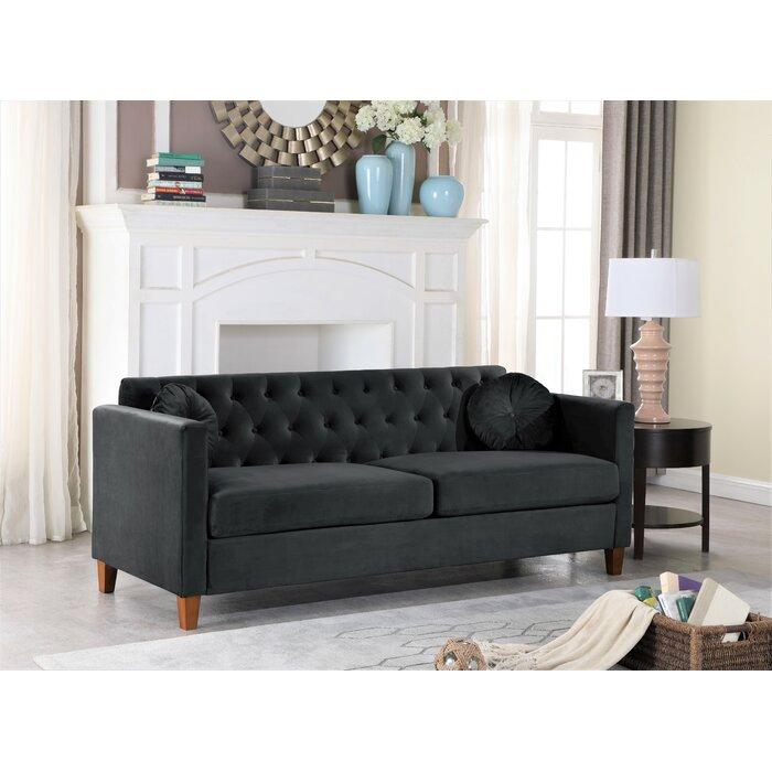 Persaud 70 Square Arms Sofa