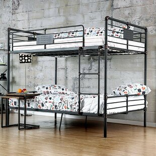 Garlington Full Over Full Bunk Bed by Harriet Bee Looking for