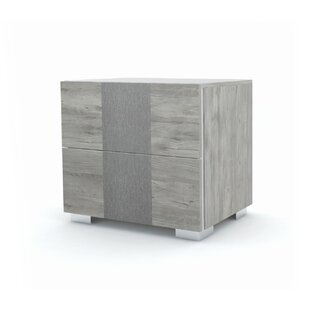 Dorcheer 2 Drawer Nightstand by Orren Ellis Comparison
