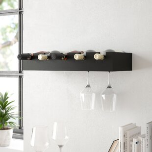 Kittleson 5 Bottle Wall Mounted Wine Rack..