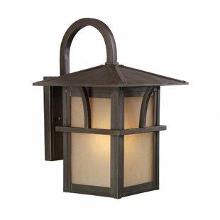 Darby Home Co Bush Creek 1-Light Outdoor Wall Lantern