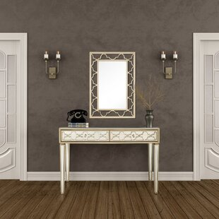 Costilla 48 Console Table and Mirror Set by Rosdorf Park