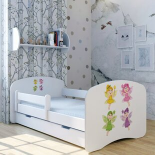Fairy Magic Convertible Toddler Bed With Drawer By Zoomie Kids