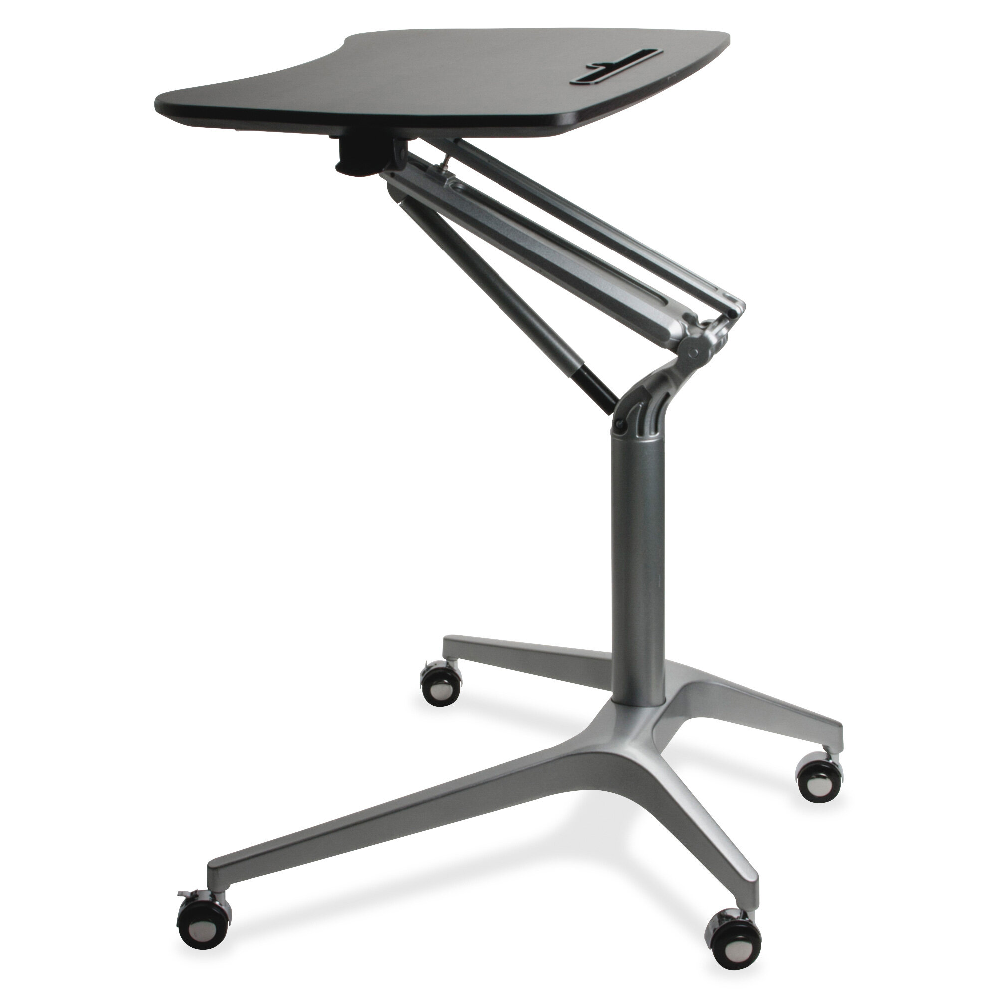 Lorell Adjustable Laptop Cart Reviews Wayfair