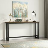 Dehaan 70.9'' Solid Wood Console Table by 17 Stories
