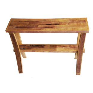 Wine Barrel Console Table By Bottles & Wood