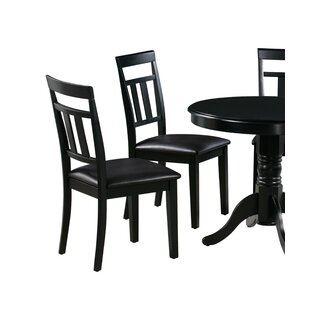 Aguiar Solid Wood Dining Chair (Set of 2)