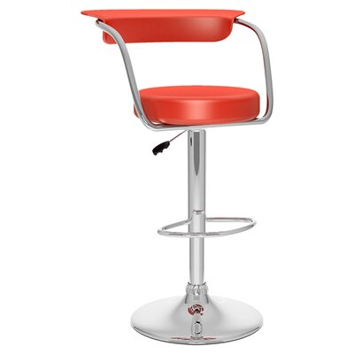 Modern Low Back Orange Bar Counter Stools Allmodern