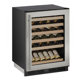 48 Bottle 1000 Series Single Zone Built-in Wine Cooler