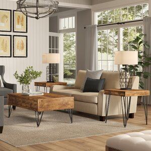 Bayle 3 Piece Coffee Table Set