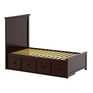 Online Reviews Cowart Twin Panel Bed with Storage by Harriet Bee Reviews (2019) & Buyer's Guide