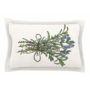 Pom Graphic Design 'Herbal Bunch of Love' Illustration Sham