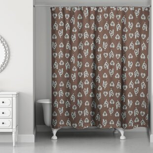 Ariel Rooster Single Shower Curtain